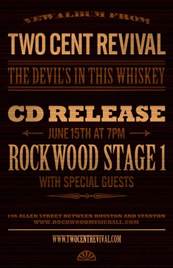 Two Cent Revival Album Release Show 6/15